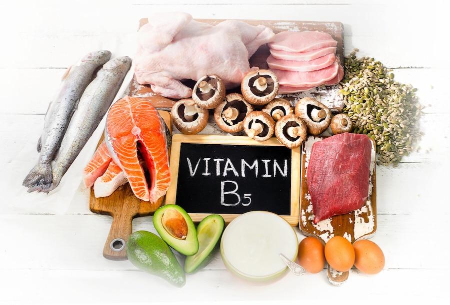 B5-vitamin (Pantonénsav)